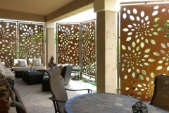 patio-privacy-screen-rusted-steel-privacy-screen-contemporary-patio-patio-privacy-screening-ideas